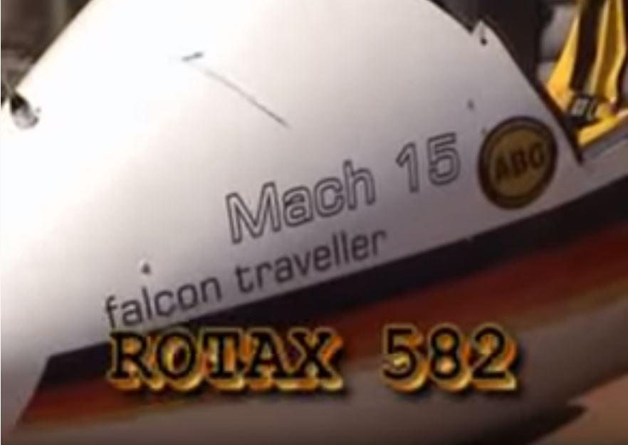 Falcon Traveller es un MACH 15