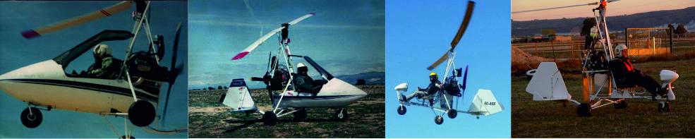 Fábrica de Autogiros MACH y FALCON TRAVELLER